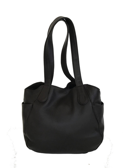 Distressed Green Leather Hobo Bag a72585e050fd3
