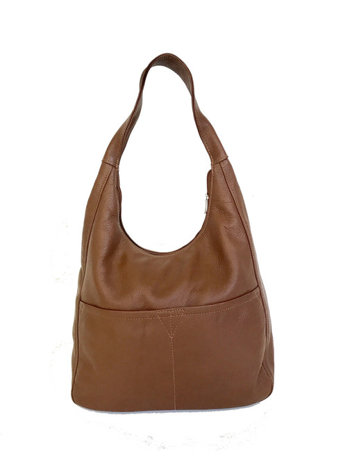 Women Brown Leather Bag, Handmade Handbags, Coco