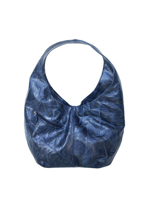 Original Leather Hobo Bag with pockets, Handmade Women Purses, Alicia