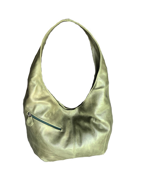 Distressed Leather Hobo Bag for Women, Fashion and Stylish Purse, Alicia