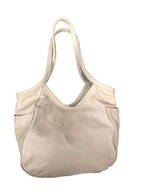 Women Camel Leather Hobo Bag, Amelia