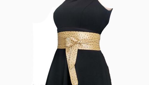 Original Leather Obi Belt, Fashion Casual Wide Belts, Dean