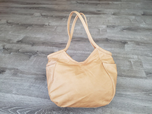 Distressed Camel Leather Bag, Rustic Retro Handbags, Amelia