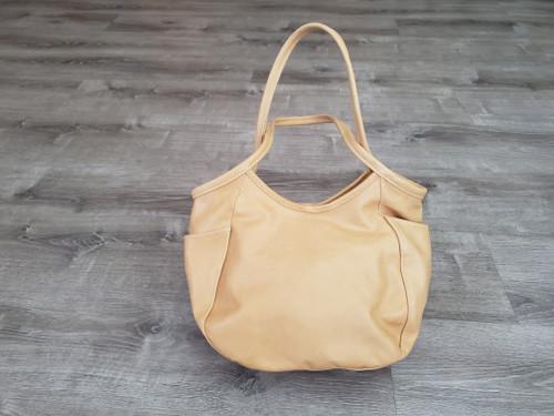 vintage distressed hobo bag