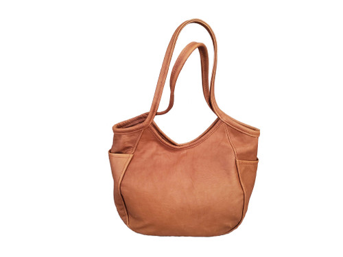 Rustic Retro Handbag, Brown Leather Hobo Bag, Women Purses, Amelia