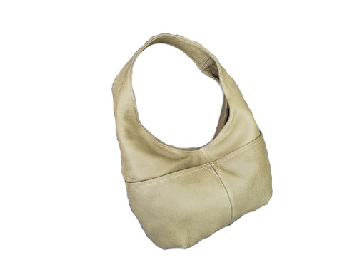 Camel Leather Bag, Casual Hobo Bags for Women, Alyna