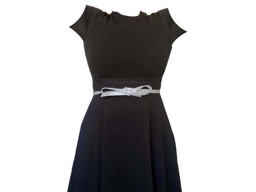 Gray Leather Belt, Handmade Waist Sash Belt, Women Fashion Boho Dress Belt, Amy