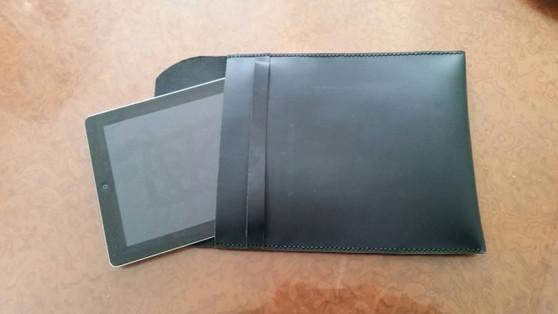 Leather IPad case, IPad sleeve, IPad Cover