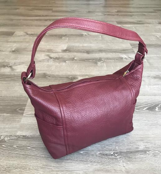 Leather Bag, Hobo Purse, Everyday Handbag, kenia