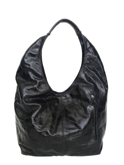 Distressed Brown Leather Hobo Bag, Large Everyday Purse, Alexis