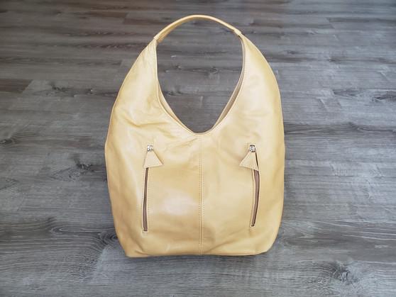 Camel Leather Bag, Hobo Purse, Casual Hobos, Fashion Bags, Alexa
