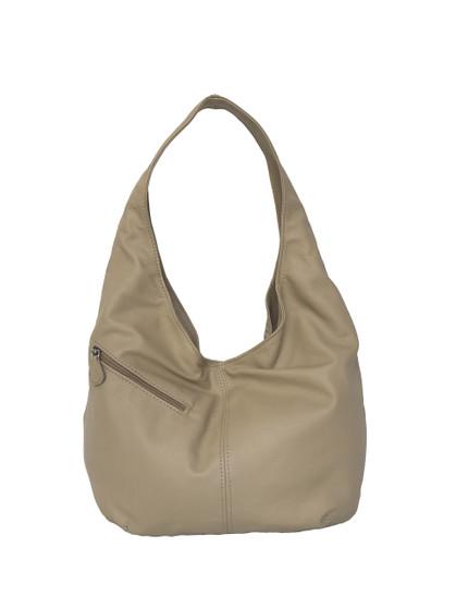 Slouchy Leather Hobo Bag w/ Pockets, Handmade Women Handbags, Alicia
