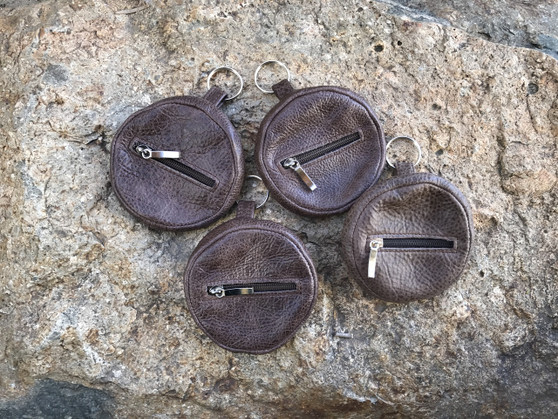 Distressed Leather Pouch Bag, Mini Bag, Maria by Fgalazebags