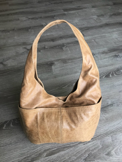 Distressed Leather Hobo Bag for Women, Fashion and Trendy Purses, Alicia