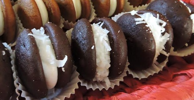 12 Pack- Large Coconut Whoopie Pies