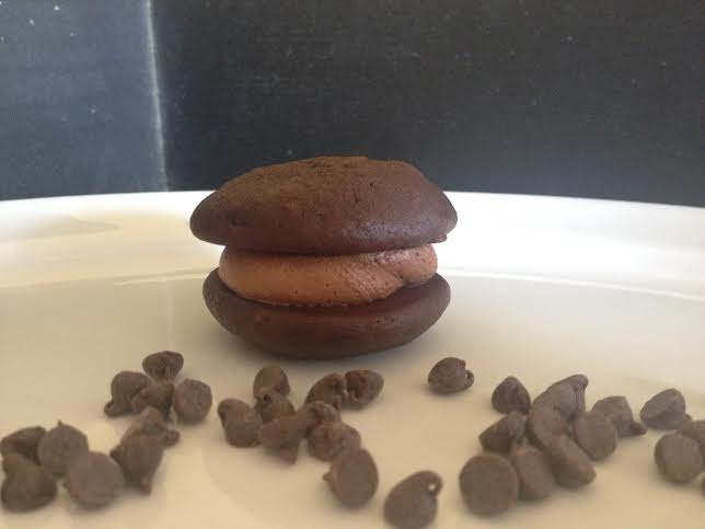 6 Pack- Large Triple Chocolate Whoopie Pies