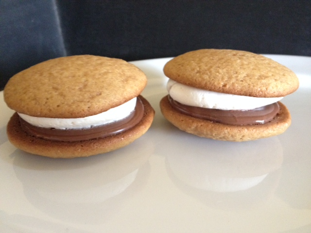 12 Pack- Large S'Mores Whoopie Pies