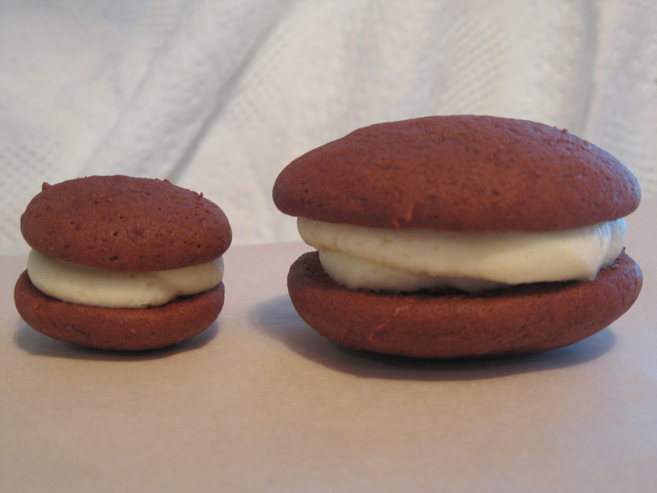 Dozen Mini Red Velvet Whoopie Pies