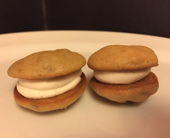 Dozen Mini Maple Walnut Whoopie Pies