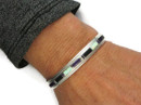 Sugilite, Jet & Opal Inlay Bracelet by Thomas Francisco