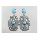 Sterling Silver Turquoise Earrings (ER2710)