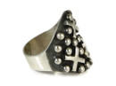 Sterling Silver Cross Ring Size 7 1/2 by Ronnie Willie, Navajo (RG2254)
