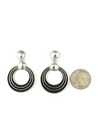 Silver Channel Earrings by Francis Jones (ER4479)