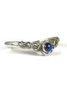 Sterling Silver Lapis Bracelet by Les Baker Jewelry