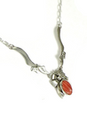 Spiny Oyster Shell Necklace by Les Baker Jewelry