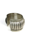 """Sterling Silver Cuff Bracelet 1 1/2"""" by Thomas Charley"""
