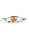 Orange Spiny Oyster Shell Bracelet by Larson Lee (BR5672)
