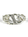 Silver Sandcast Bracelet by Francis Jones