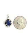 Small Lapis Pendant by Raymond Coriz