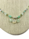 Multi Gemstone Beaded Necklace & Earring Set