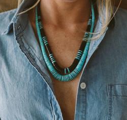 Heishi Necklaces
