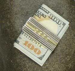 Silver Money Clips