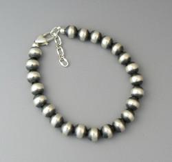 Silver Bead & Chain Bracelets