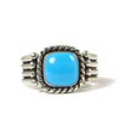Sleeping Beauty Turquoise Rings