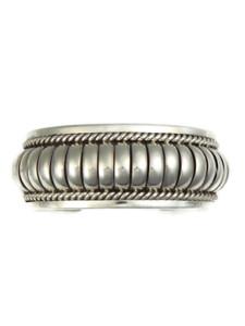 """Tom Charley Sterling Silver Cuff Bracelet 1"""""""