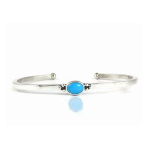 Dainty Sleeping Beauty Turquoise Bracelet