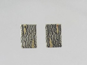 14k Gold & Sterling Silver Earrings