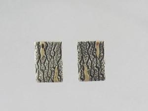 14k Gold & Sterling Silver Earrings