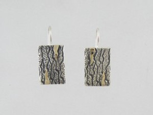 14k Gold & Sterling Silver Earrings - Omega Clips