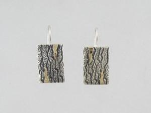 14k Gold & Sterling Silver Earrings - Omega Clips