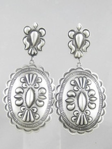 Handmade Sterling Silver Earrings - Eugene Charley (ER0865)