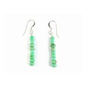Variscite Bead Earrings (ER3314)