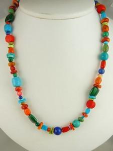 Multi Gemstone Beaded Necklace