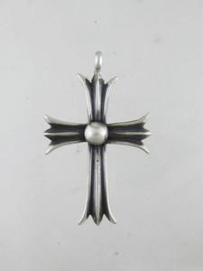 Sterling Silver Cross Pendant - Linda Marble (PD0124)
