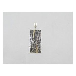 14k Gold & Sterling Silver Pendant