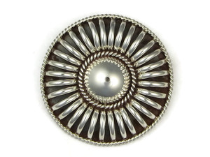 Sterling Silver Pendant Brooch by Thomas Charley